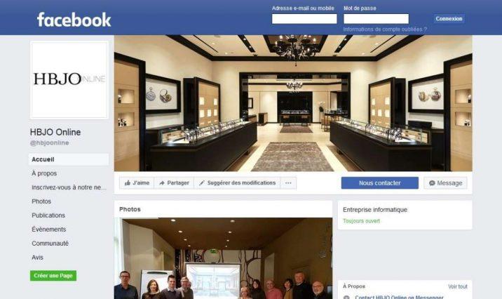 HBJO Online Site internet ou Facebook