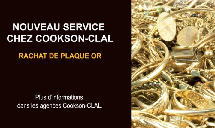 Cookson-CLAL plaqué or - Nouveauté, la société est aujourd'hui capable de traiter tous les types de déchets comme le plaqué-or.