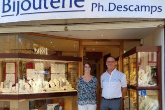 Reprise d'une bijouterie-horlogerie. C'est le projet d'Estelle Mosack qui reprend la Bijouterie Descamps à Nérac, près d'Agen.
