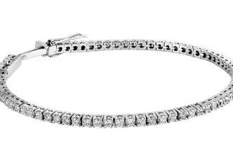 Lyon Alliances Brillants : Les bracelets rivière de diamants