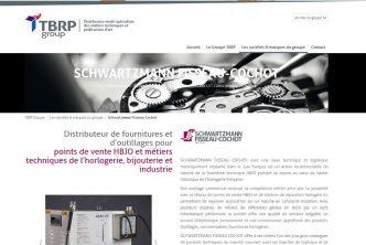 Nouveau service online de pièces détachées horlogères : TBRP Group/Schwartzmann Fisseau-Cochot