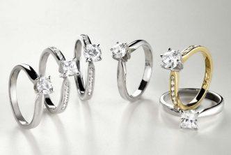 Domino Jewellery - Montures, alliances et bijoux diamants, or et platine - propose aux bijoutiers un grand éventail de designs.