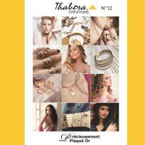 Thabora : Nouveau catalogue Plaqué Or