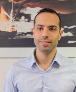 Laurent Benedic, responsable adjoint d'agence chez Cookson-CLAL