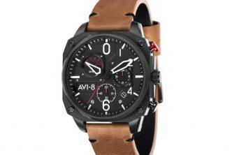 Trendy Elements : AVI-8 des montres qui rendent hommage à des pilotes légendaires, et aux avions emblématiques.