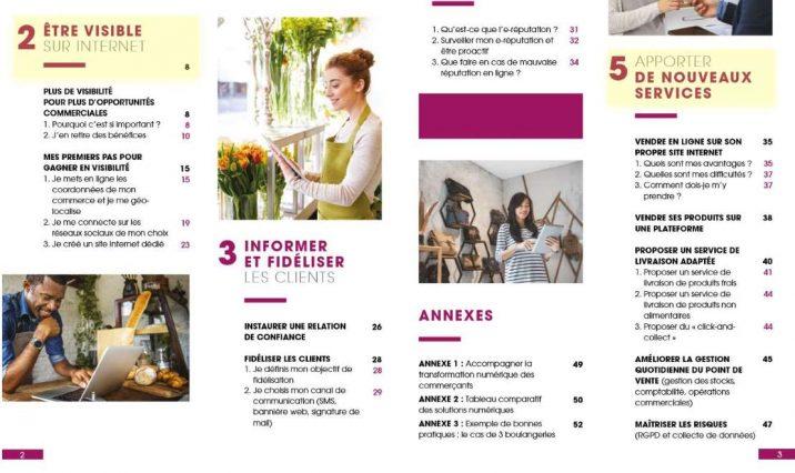 Guide digitale au service des commerces de proximité