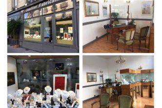 Nantes - Vends cause retraite fonds de commerce bijouterie-joaillerie