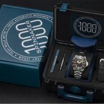 SPINNAKER - Nouveaux modèles de montres : HULL DIVER et TESEI MILLE METRI