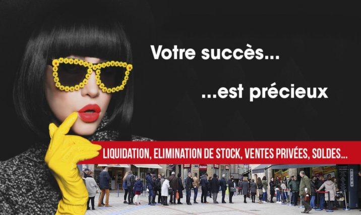 Perchey Organisation, le spécialiste d'événementiels commerciaux : liquidation, déstockage, ventes privées et soldes